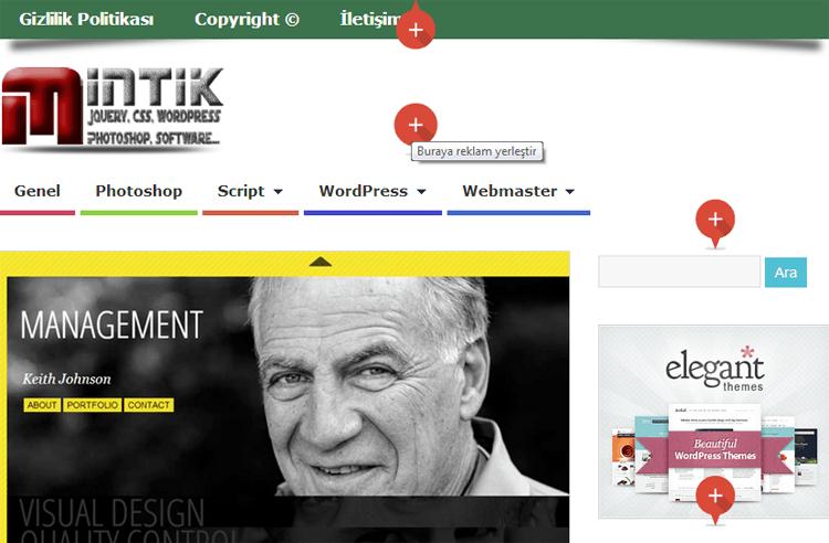 en iyi reklam yerleşimi Web siteleri için reklam çözümleri