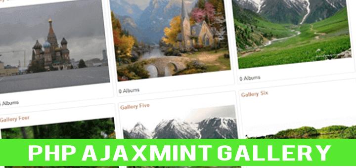 , Ajax Mint Gallery – Ücretsiz Php Galeri Scripti