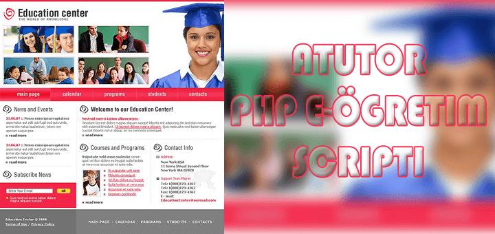e-öğretim scripti php