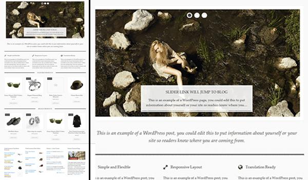 AyoShop 15+ Ücretsiz Wordpress e ticaret teması
