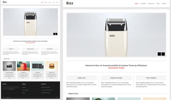 Bizz 50+ Ücretsiz Wordpress Firma/Şirket Teması