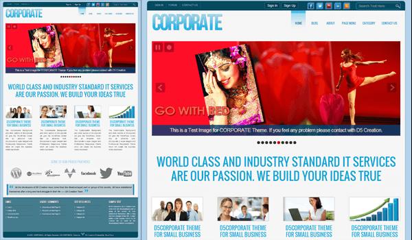 CorporateLite 50+ Ücretsiz Wordpress Firma/Şirket Teması