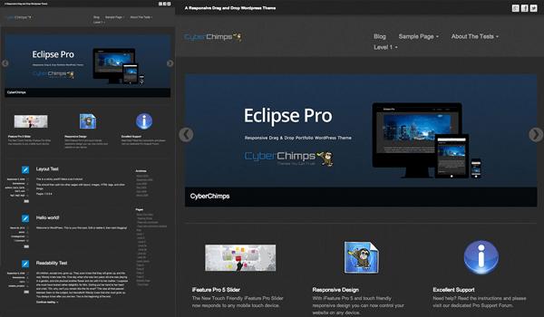 Eclipse 50+ Ücretsiz Wordpress Firma/Şirket Teması
