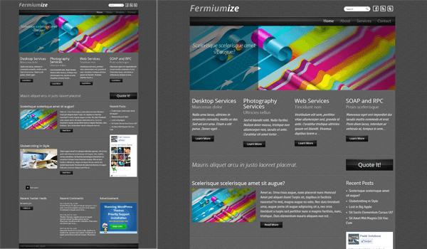 Fermiumize 50+ Ücretsiz Wordpress Firma/Şirket Teması