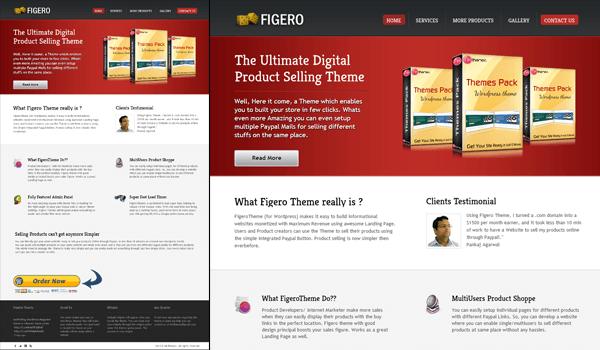 Figero 50+ Ücretsiz Wordpress Firma/Şirket Teması