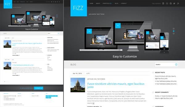 Fizz 50+ Ücretsiz Wordpress Firma/Şirket Teması
