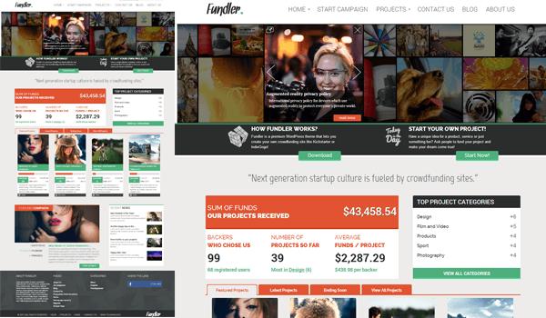 Fundler 15+ Ücretsiz Wordpress e ticaret teması