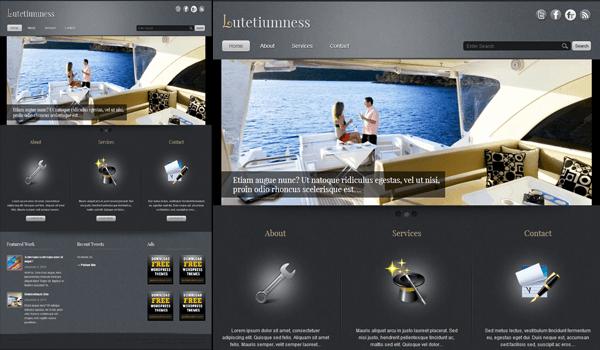 Lutetiumness 50+ Ücretsiz Wordpress Firma/Şirket Teması