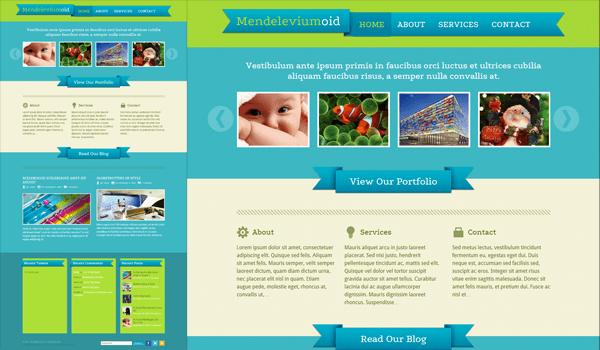 Mendeleviumoid 50+ Ücretsiz Wordpress Firma/Şirket Teması