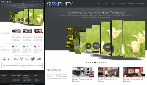 Simplify 15+ Ücretsiz Wordpress e ticaret teması