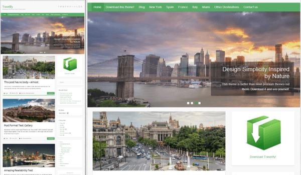TraveLify 20+ Ücretsiz Wordpress e ticaret teması