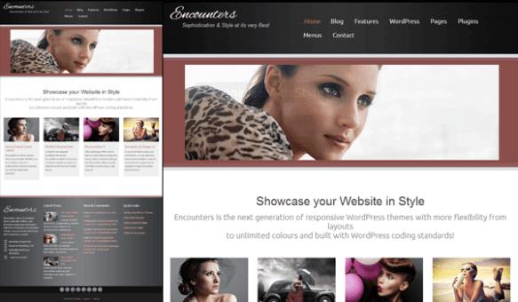 encounters 50+ Ücretsiz Wordpress Firma/Şirket Teması
