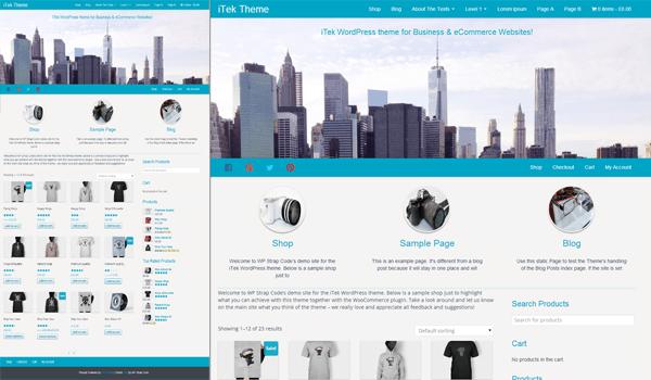 itek 15+ Ücretsiz Wordpress e ticaret teması