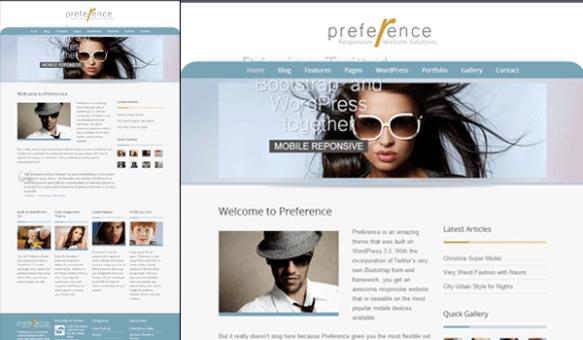preference 50+ Ücretsiz Wordpress Firma/Şirket Teması