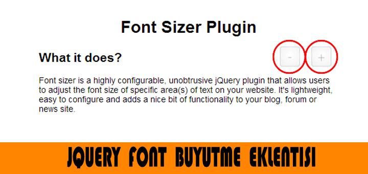 FontSizer