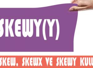 Skew(), skewX() ve skewY() değerleri 1