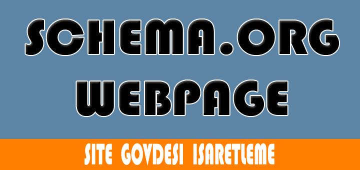 WebPage microdata