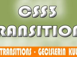 Transitions - Geçişler 2