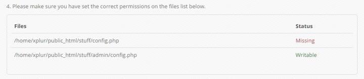 Please make sure you have set the correct permissions on the files list below. min Markanızın ürünlerini internetten satın   OpenCart