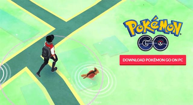 , Bilgisayardan Pokemon Go Oynama