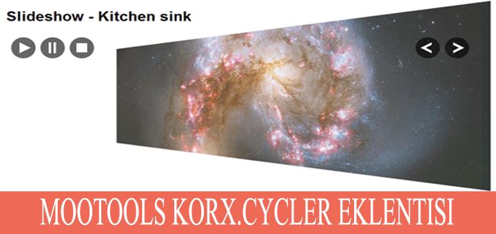 Korx.Cycler – Mootools uygulaması