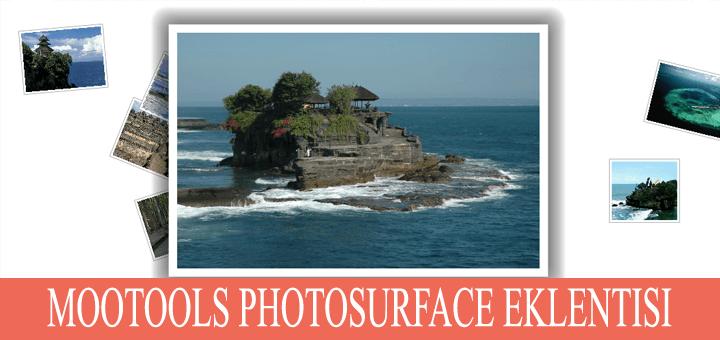 PhotoSurface.Js – MooTools fotoğraf albümü