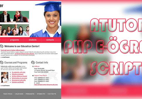 Atutor - E-Öğretim Yönetim Sistemi