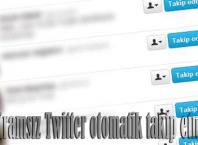 Programsız Twitter otomatik takip etme (Auto Follow)