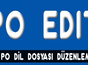 po dil dosyası düzenleme edit mo