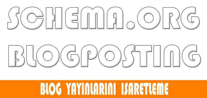 4.Gün – BlogPosting işaretlemesi