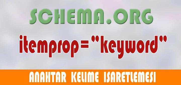 6.Gün – Keyword (anahtar kelime) işaretlemesi