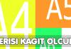 a5 a4 a3 a2 a1 a6 a0 2a0 kağıt boyutları ölçüleri kaç piksel