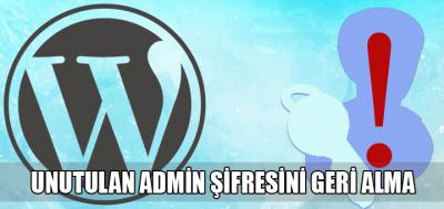 administrator reset