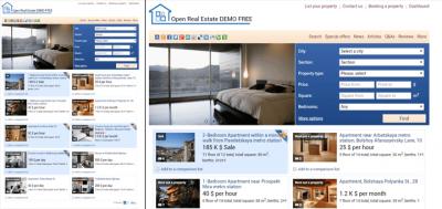 open real estate php ücretsiz emlak ilan scripti