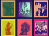 Spotify tarzında fotoğraf renklendirici