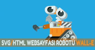 svg web animation wall e