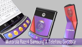 motorola razr4 tasarimi ozellikleri Katlanabilir Motorola Razr V4, Samsung X telefonu geçebilir