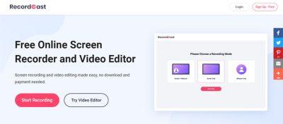 programsiz video editleme Programsız Online video düzenleme ve ekran görüntüsü kaydetme editörü